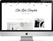 The Lola Blogger Template
