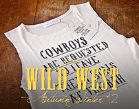 """Wild West"" collection, Branding and Print Design"