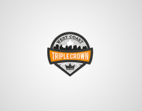 West Cost Triple Crown logotype. Crossfit competition.