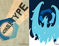 Moveable Type Posters