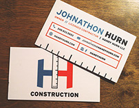 FREELANCE // Handy Hurn Biz Cards
