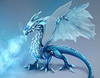Frost Dragon concept