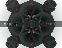 Mindphaze's 'Recoil' EP cover art