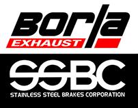 BORLA, KONI & SSBC Performance Race parts Magazine ADs