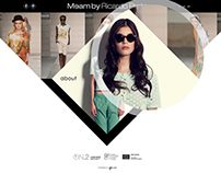 Meam Fashion - Website Proposal - 2014
