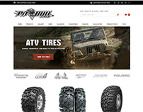 Pitbull Tires | e-Commerce Website Design