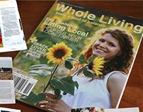 Mock Whole Living Magazine