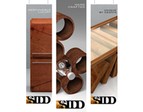 SIDD Fine Woodworking - Brand Campaign & Collateral