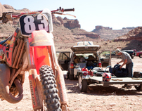 Dirt Biking in Moab, Utah