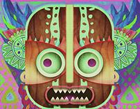 Tribal Mask Animation