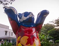 Buddy Bear Alemania & Nicaragua