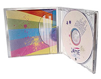 Logo, Jewel Case Inserts and CD Label Design