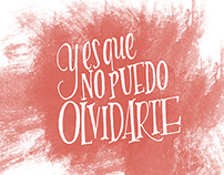 No puedo olvidarte ( LYRICS FOR A MUSIC GROUP)