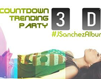 """""""ME YOU AND THE MUSIC"""" ALBUM LAUNCH COUNTDOWN BANNERS"""