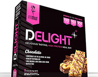 FitMiss Delight Protein Bar Packaging (Concept Art)