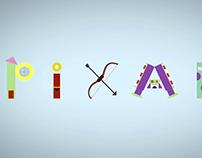 PIXAR Animated Typeface (PIXART)