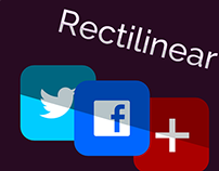 Rectilinear Social Icon Pack