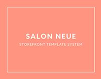 Salon Neue Storefront Template