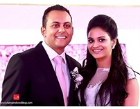 Nisha + Prashan Wedding