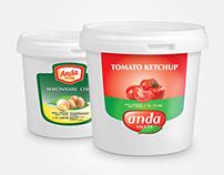 Sauce branding