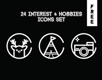Free 24 Interest & Hobbies Icons