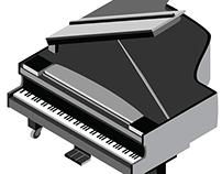 Isometric - Grand Piano