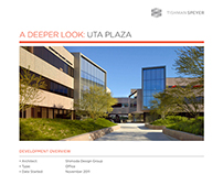 UTA Plaza Case Study