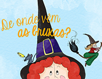 De onde vêm Bruxas? - Childrens' Book