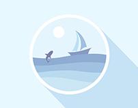 20151015.icon.《Sea, Shark, Sky》