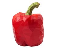 Polygon Fruits