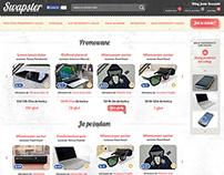 Swapster - portal wymiany przedmiotów