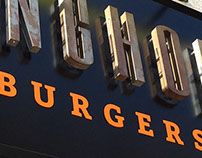 Longhorn Burgers Branding and Signage