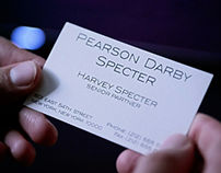 Business cards Harvey Specter | Suits (TV series)