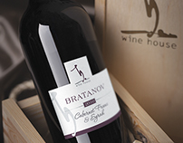 BRATANOV WineHouse Label
