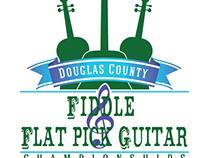 Fiddle & Flat Pick Guitar Championships Logo