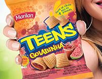 Anúncio Marilan Teens