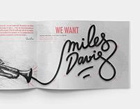 MILES DAVIS | MAGAZINE