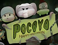 Pocoyo Halloween 2014