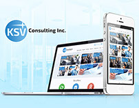 Website for the consulting company «Promotion»