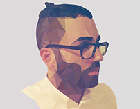 Self Portrait Low Poly
