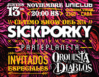 Sick Porky | Poster Design