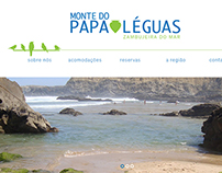 Website Monte do Papa Léguas