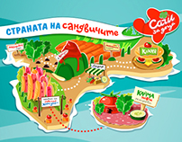 Sandwich Land / Sachi for kids