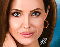 Angelina Jolie | Digital Painting