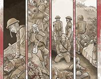 """Lignes de Front"", WW1 100th anniversary"