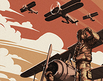 M.A.1.A. - The Night of The Biplanes | Comic