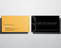 Studio 88 Designs - Business Cards