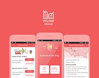 Kraków Deals | App UI & Branding