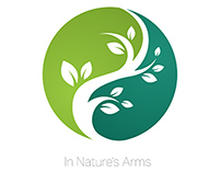 In Natures Arms Logo Design