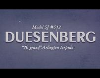 "Duesenberg (series ""great aristocrats"")"